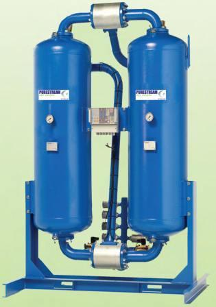 HDT Heatless Twin Tower Desiccant Dryer