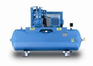 5 HP HORIZONTAL TWO STAGE AIR COMPRESSOR